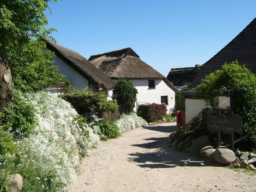 Nordrügen - Breege - Glowe - Das historische Fischerdorf Vitt am Kap Arkona