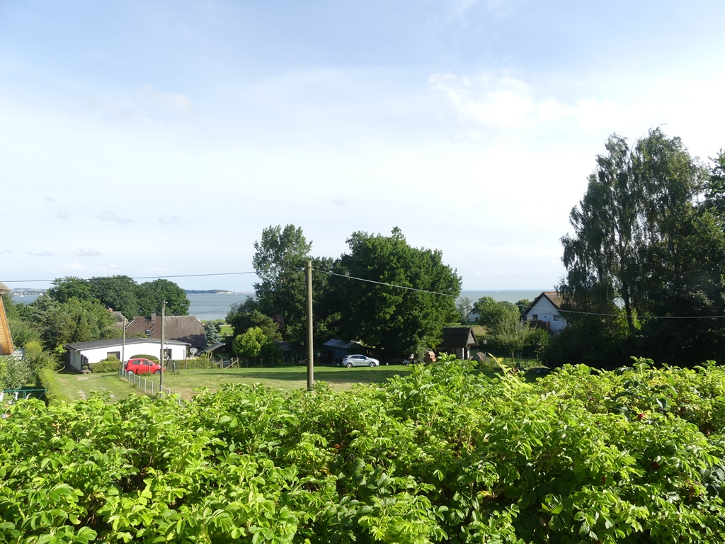 Gross Stresow - Blick vom Ferienhaus