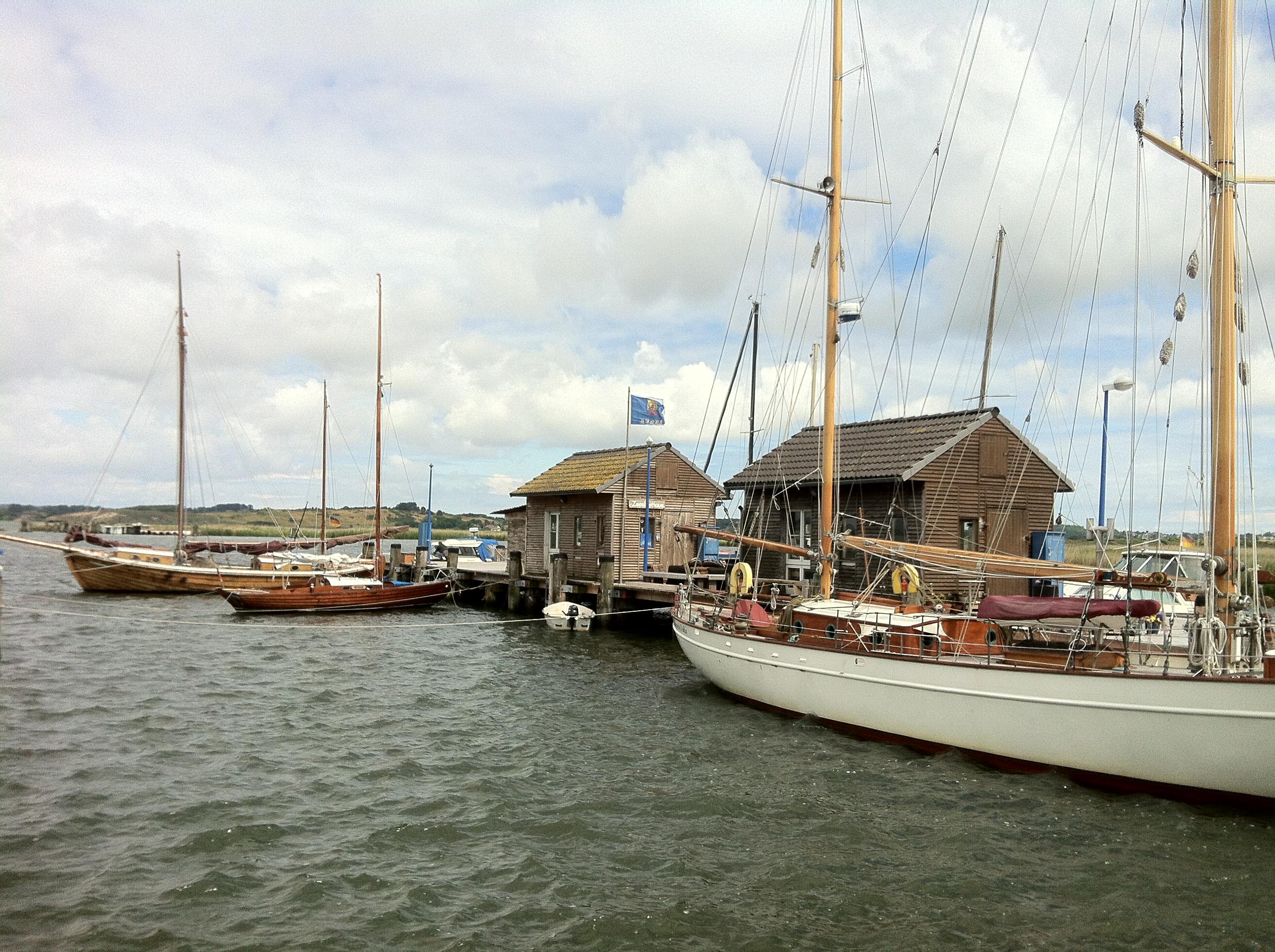 Nordrügen - Breege - Glowe - Der Hafen von Breege