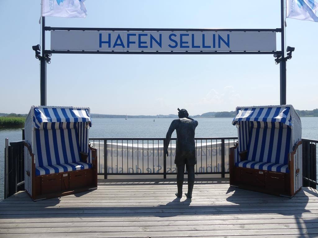 Sellin - Der Hafen in Sellin