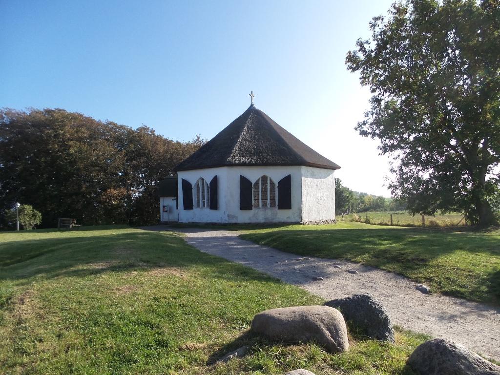 Nordrügen - Breege - Glowe - Due Uferkapelle von Vitt