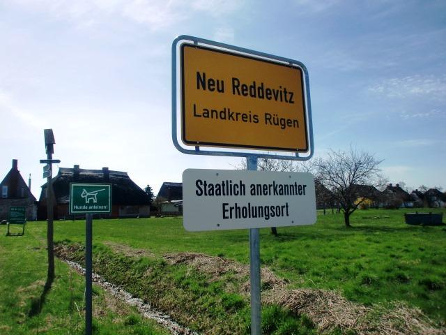 Lancken-Granitz - Neu-Reddevitz ist ein nettes kleines Zeilendorf