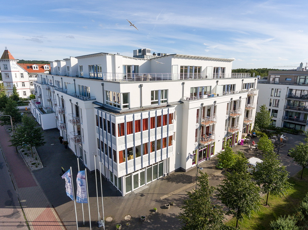 Residenz Bel Vital - Ansicht Residenz Bel Vital im Ostseebad Binz auf Rügen