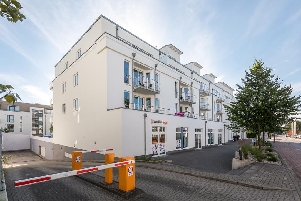 Residenz Bel Vital - PKW-Tiefgaragenstellplatz im Haus, Einfahrtshöhe 2,10 m
