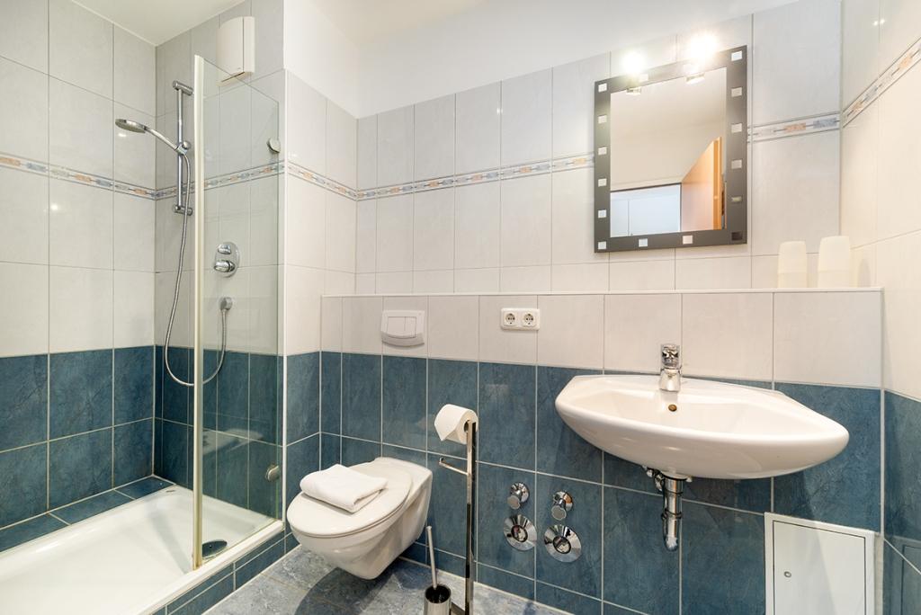 Residenz Bel Vital - Die Badezimmer in der Residenz Bel Vital