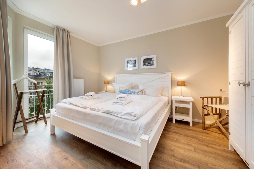 Residenz Bel Vital - Wohnbeispiel eines Schlafzimmers in der Residenz Bel Vital