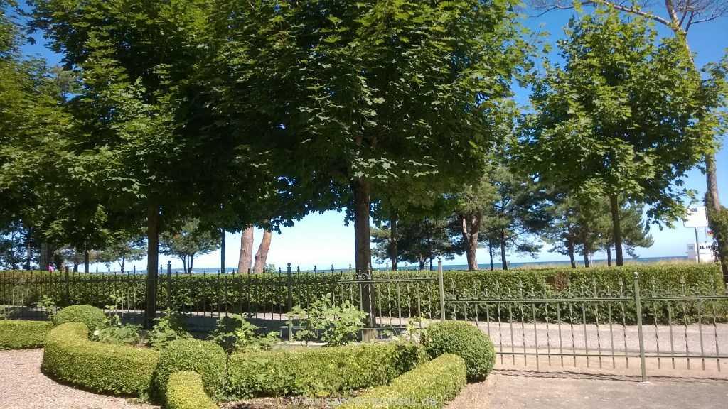 sehr gepflegtes Grundstück der Villa Strandistel direkt an der Promenade - Binz