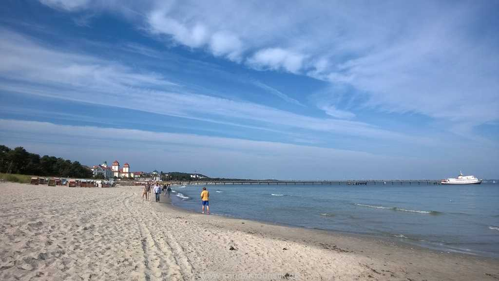 Strandspaziergang im Herbst - Villa Stranddistel - Binz