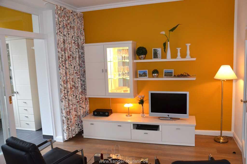 Wohnbereich - Villa Stranddistel - Binz