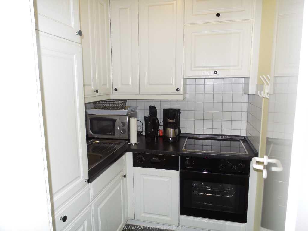 Separate, sehr gut ausgestattete Küche in Binz - Villa Sirene