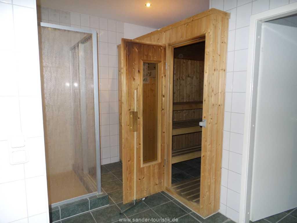 Sauna im Tiefparterre (Gebühr) in der Villa Sirene in Binz
