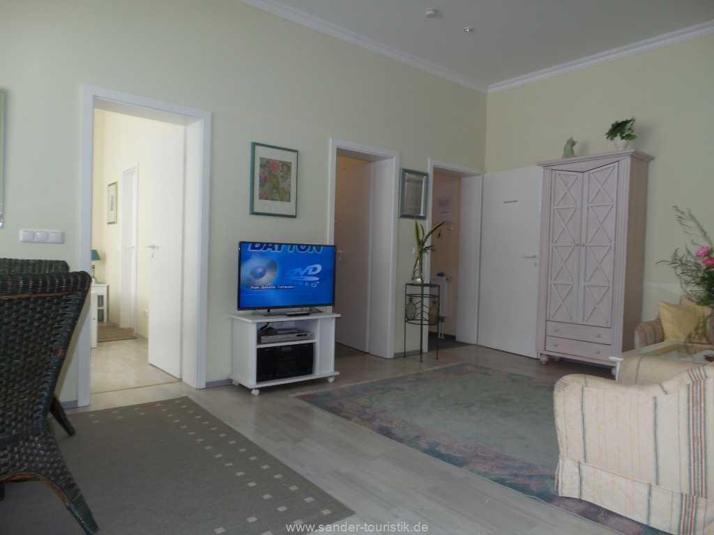 Kabel-TV mit großem Flachbildschirm-Binz-Sirene