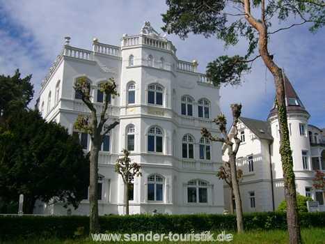 Außenansicht Villa Sirene in Binz