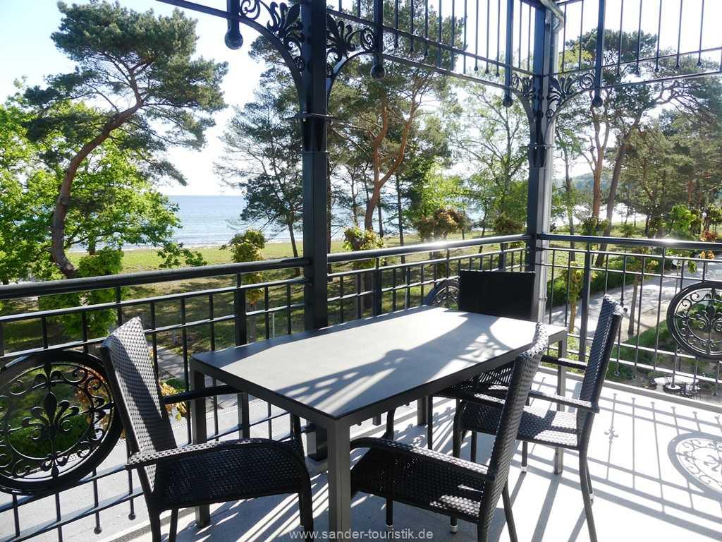 Blick auf die Ostsee von der Villa Strandblick in Binz