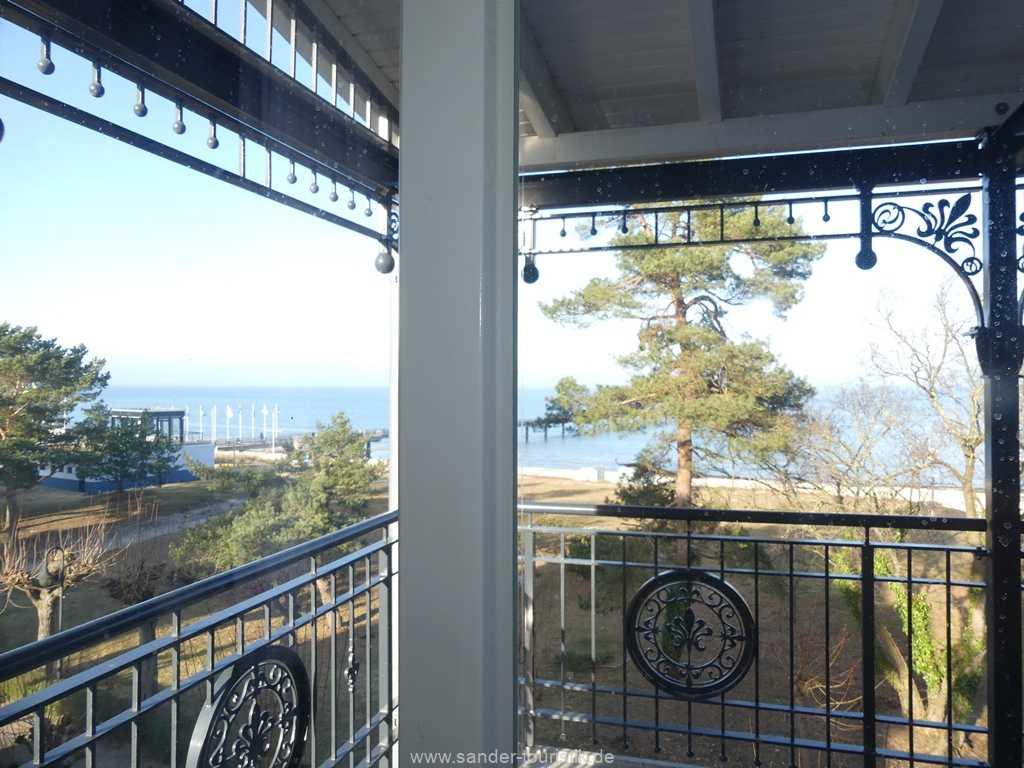 Blick auf die Ostsee - Villa Strandblick - Binz