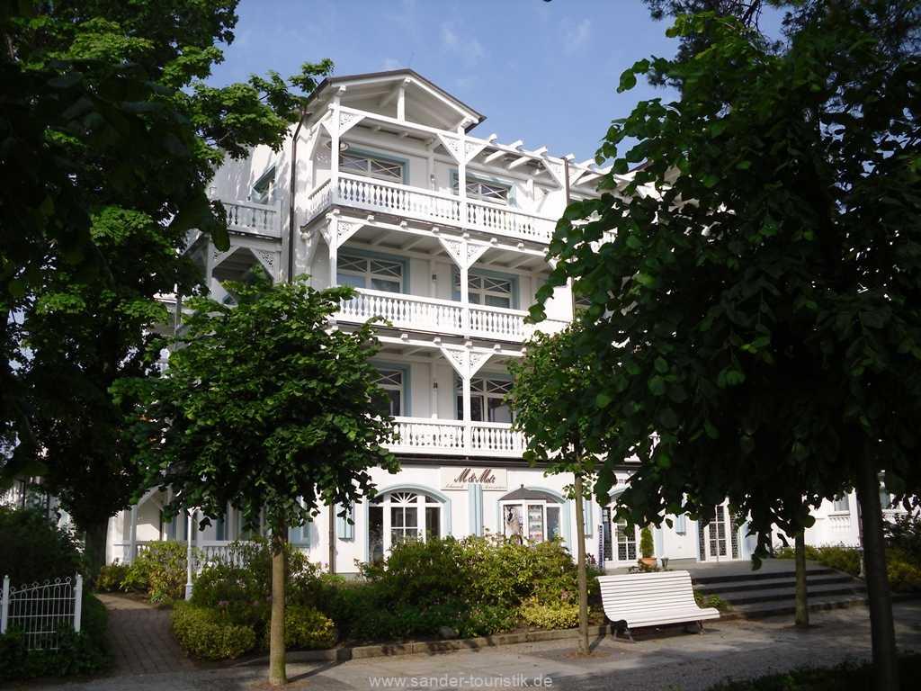 Aussenansicht Villa Strandburg - Binz