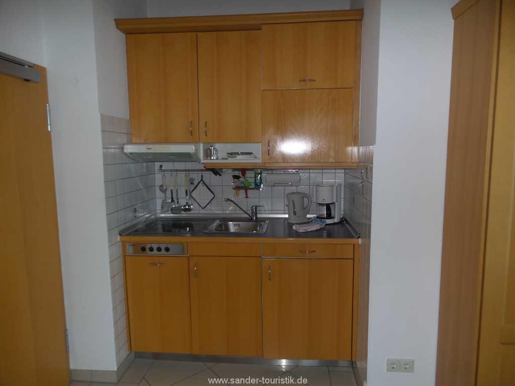 Gut ausgestattete Küchenzeile mit Spülmaschiner Villa Strandburg in Binz