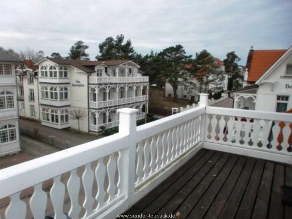 Blick vom Balkon Villa Strandburg