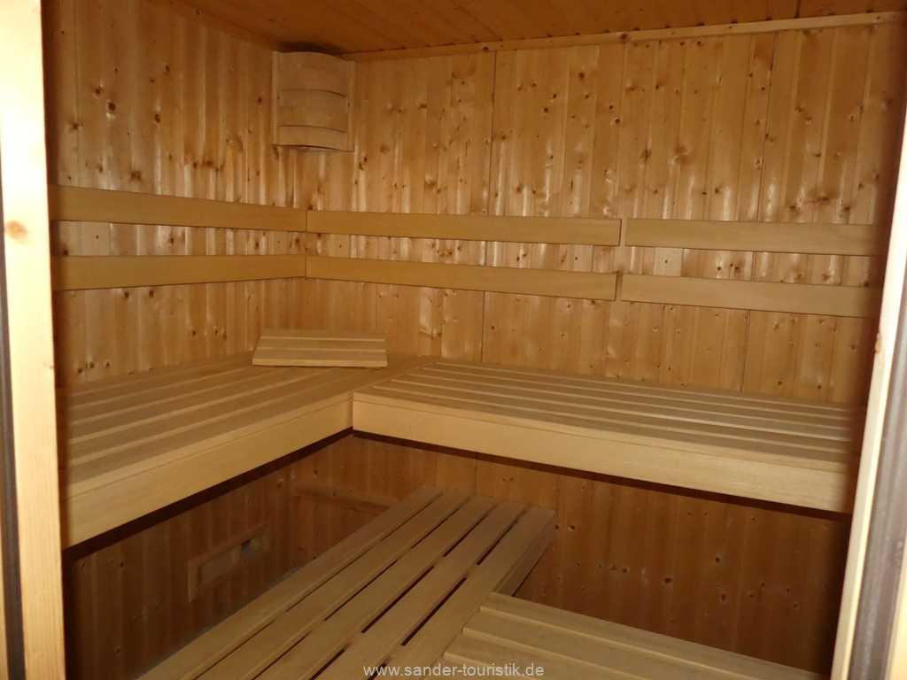 Sauna im Haus (Gebühr)