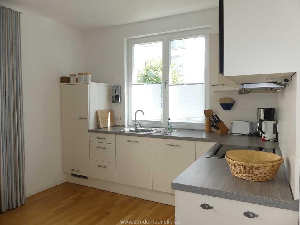Moderne Küchenzeile, Strandhaus Seeblick, Binz