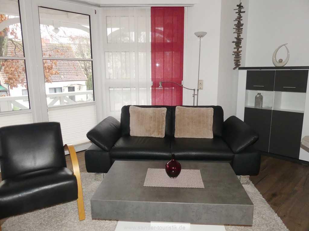 TV-Flachbildschirm und WLAN in der Wohnung