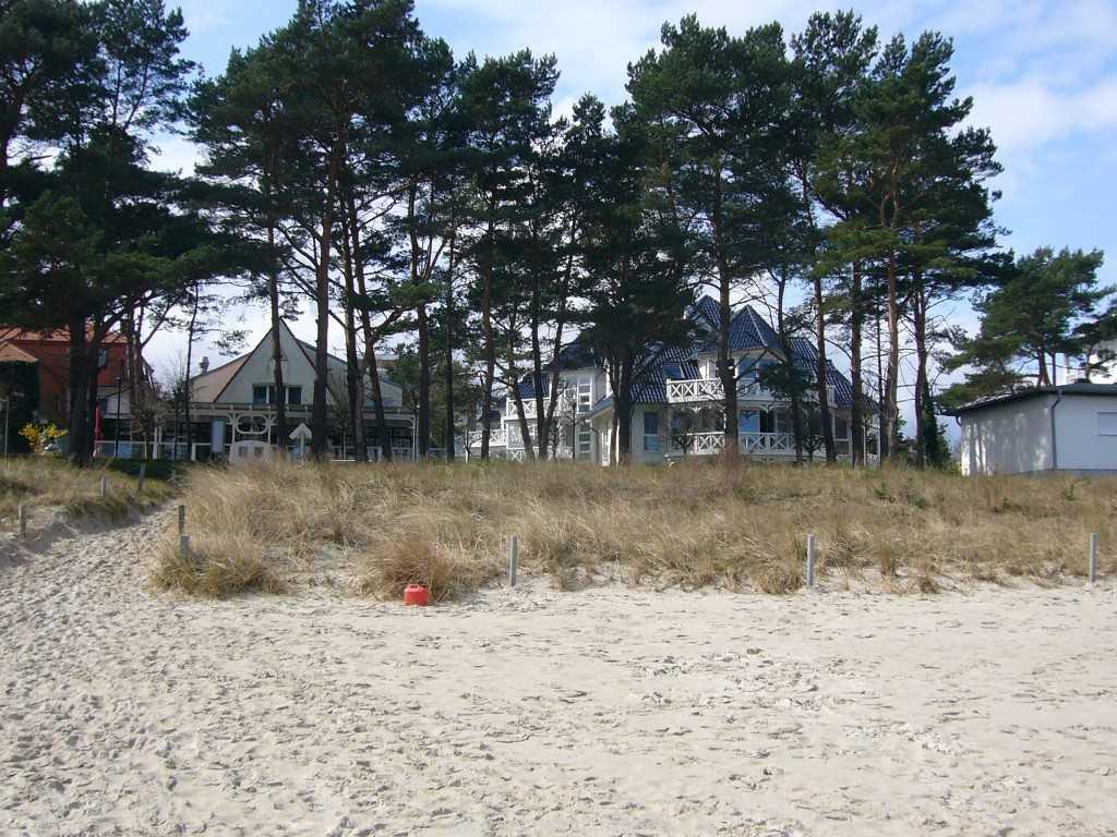 Blick vom Ostseestrand