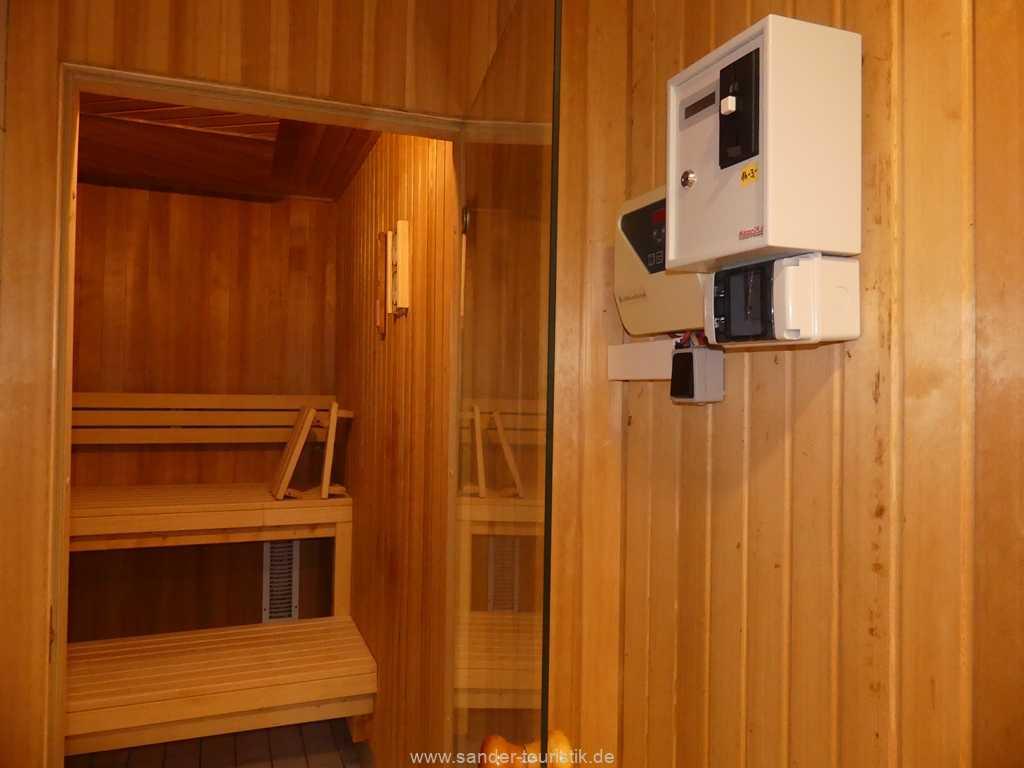 Sauna im Haus - a Cappella - Binz