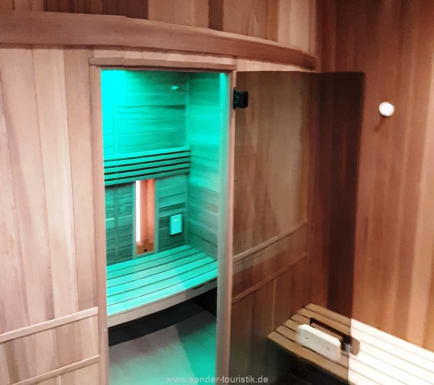 Infrarot-Kabine im Haus