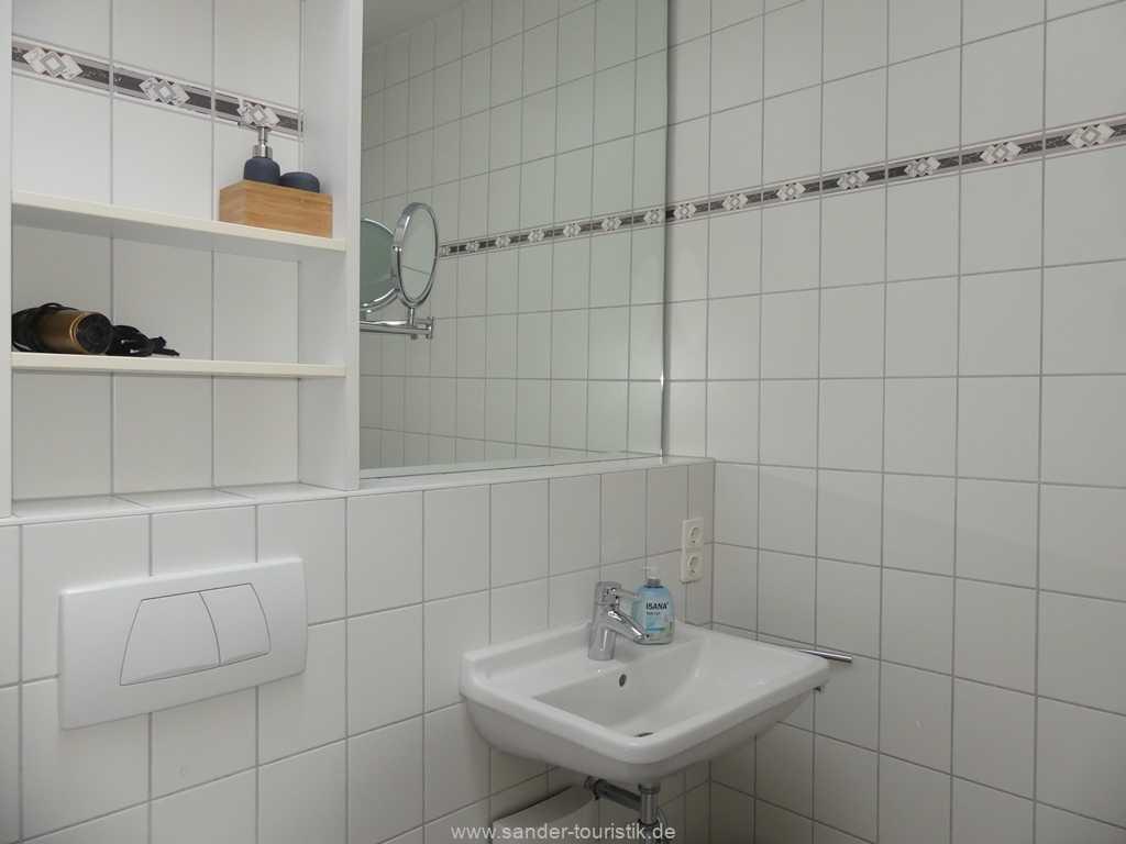 Badezimmer, Ferienwohnung Binz