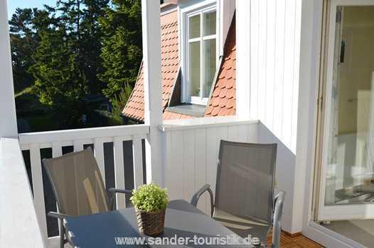 Balkon, Ferienwohnung Binz