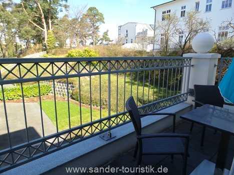 Ausblick vom Balkon - Binz - Königin Augusta