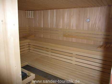 Sauna im Haus - Binz