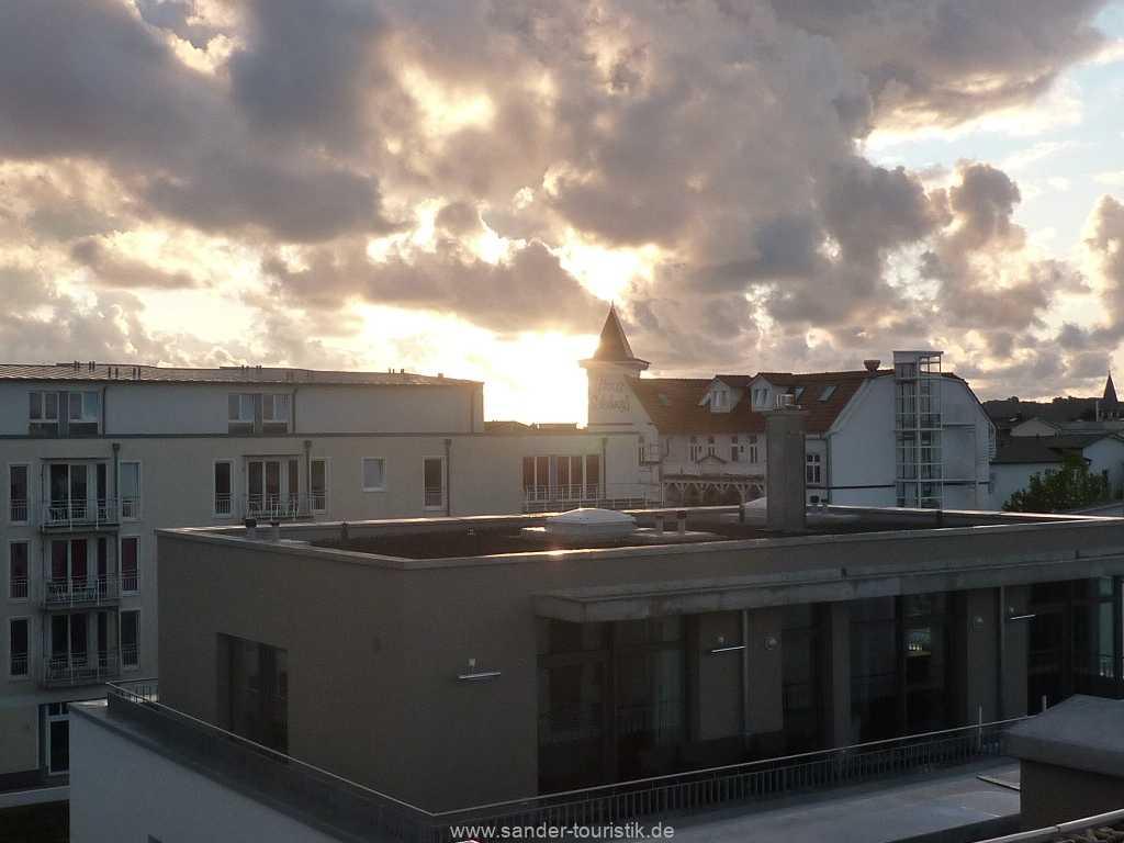 Sonnenaufgang über der Ostsee von der Dachterrasse