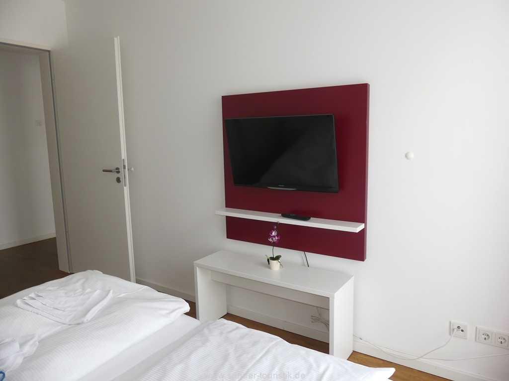 und TV, Schlafzimmer, DünenResort