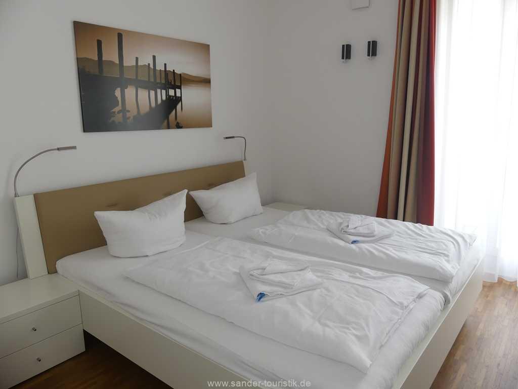 zweiter Doppelbett Zimmer, Ostseebad Binz