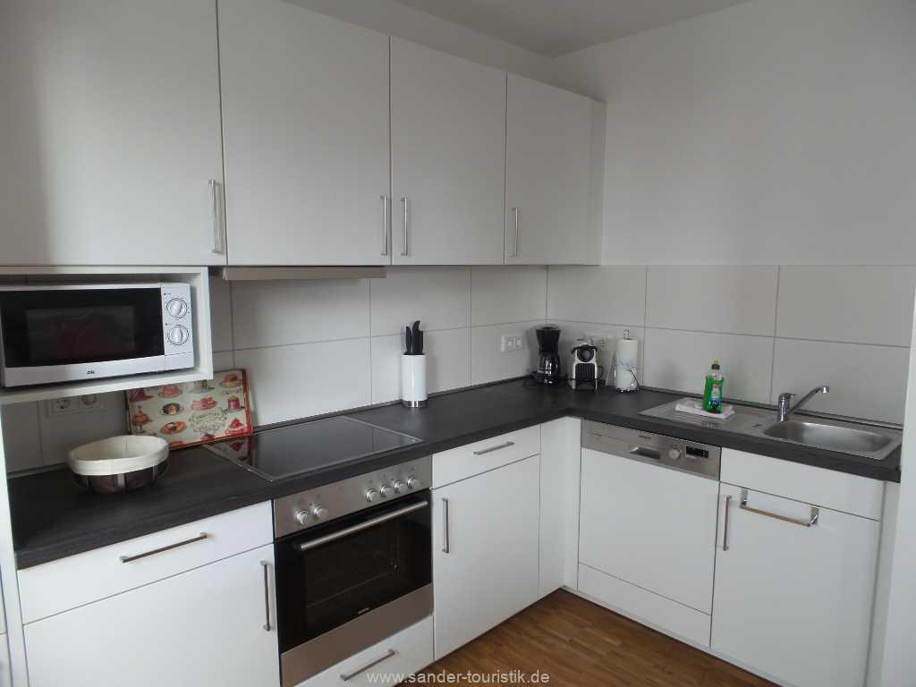 Sehr gut ausgestattete Küchenzeile - Binz - DünenResort