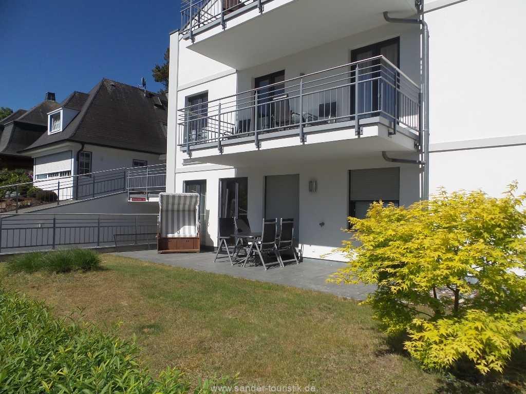 Terrasse Wohnung 2.1 - Residenz margarete - Binz