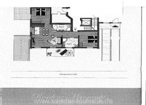 Grundriss der Wohnung- Residenz Margarete