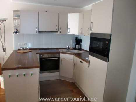 offene moderne Küche - Binz - Residenz Margarete