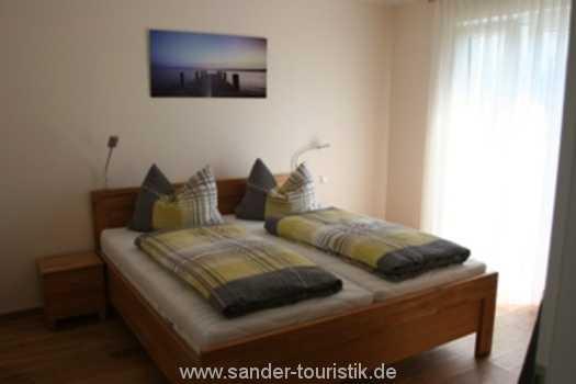 2. Schlafzimmer mit Doppelbett, Binz - Residenz Margarete