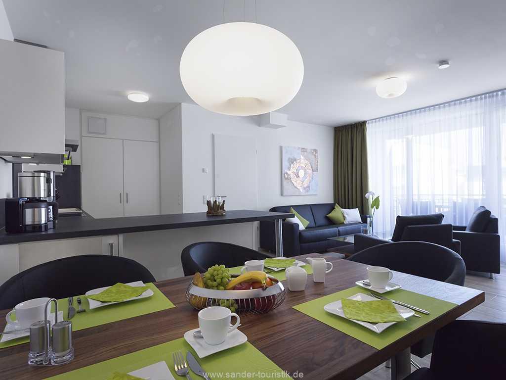 Essbereich mit Küchenbereich