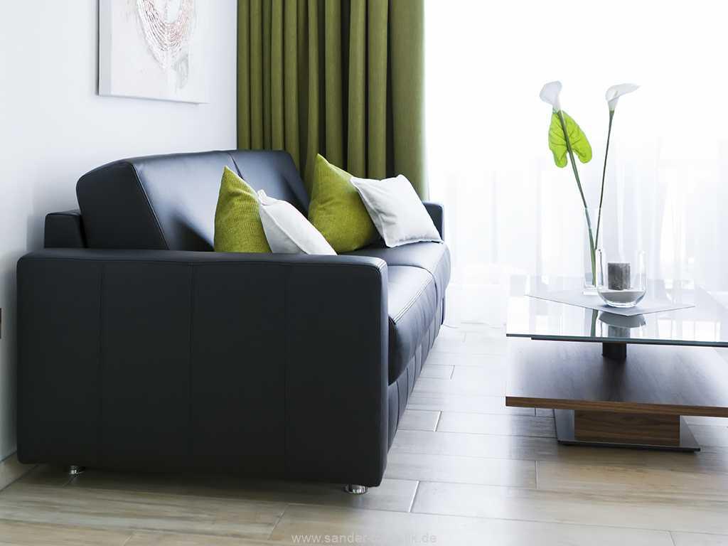 gemütliches Sofa zum Ausziehen