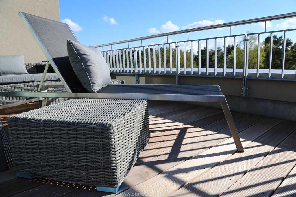 DünenResort - Terrassenmöbel: Sonnenliegen und Lounge