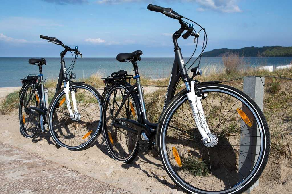 Hochwertige Fahrräder gehören zur Wohnung. Im Haus befindet sich ein abschließbarer Fahrradraum.