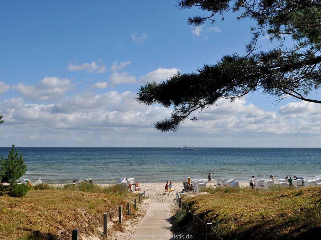 Binz -DünenResort - Nur 200 Meter bis zu diesem Strand