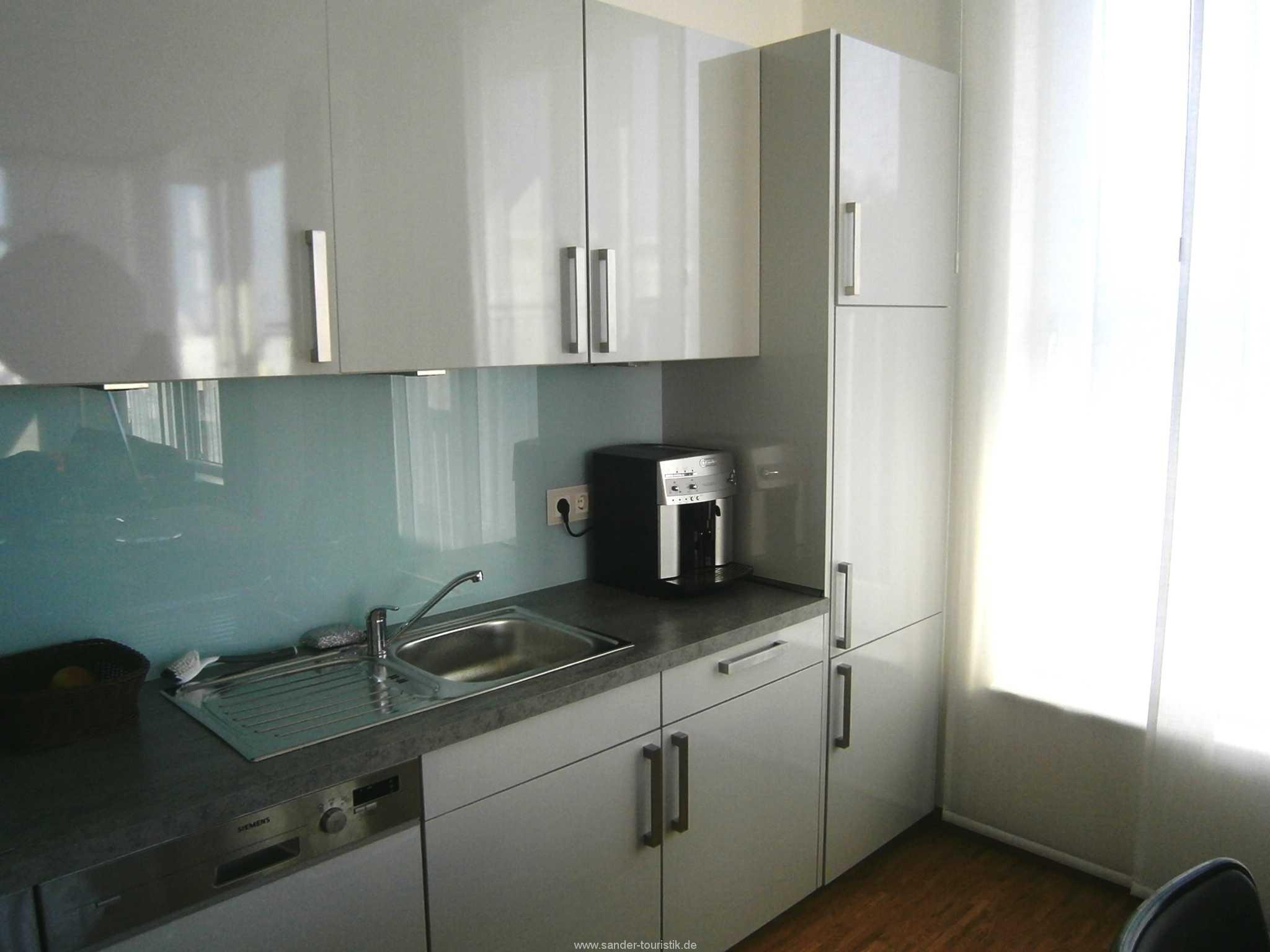 Moderne Küchenzeile, Penthouse
