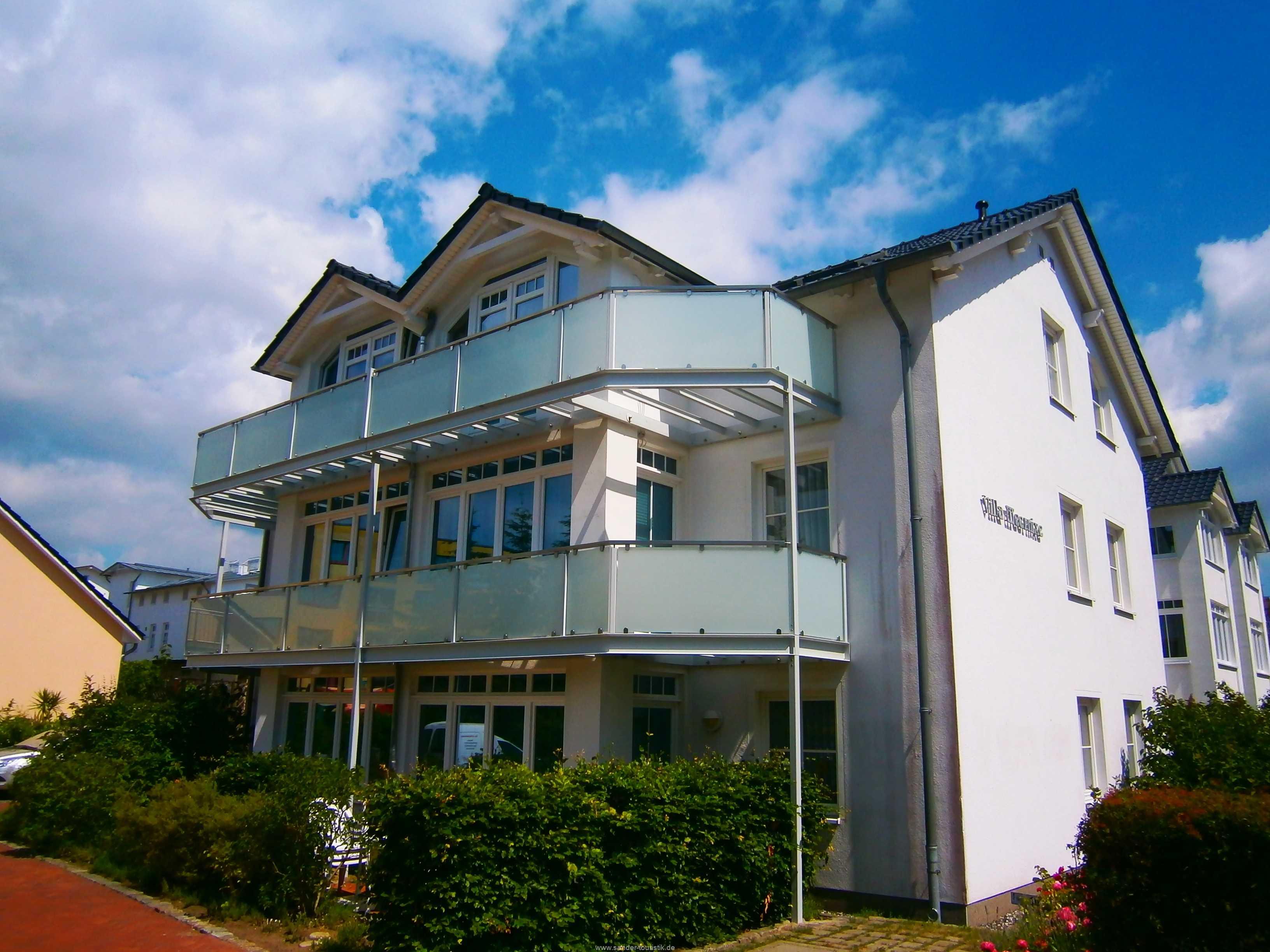 Außenansicht Villa Meernixe - Binz