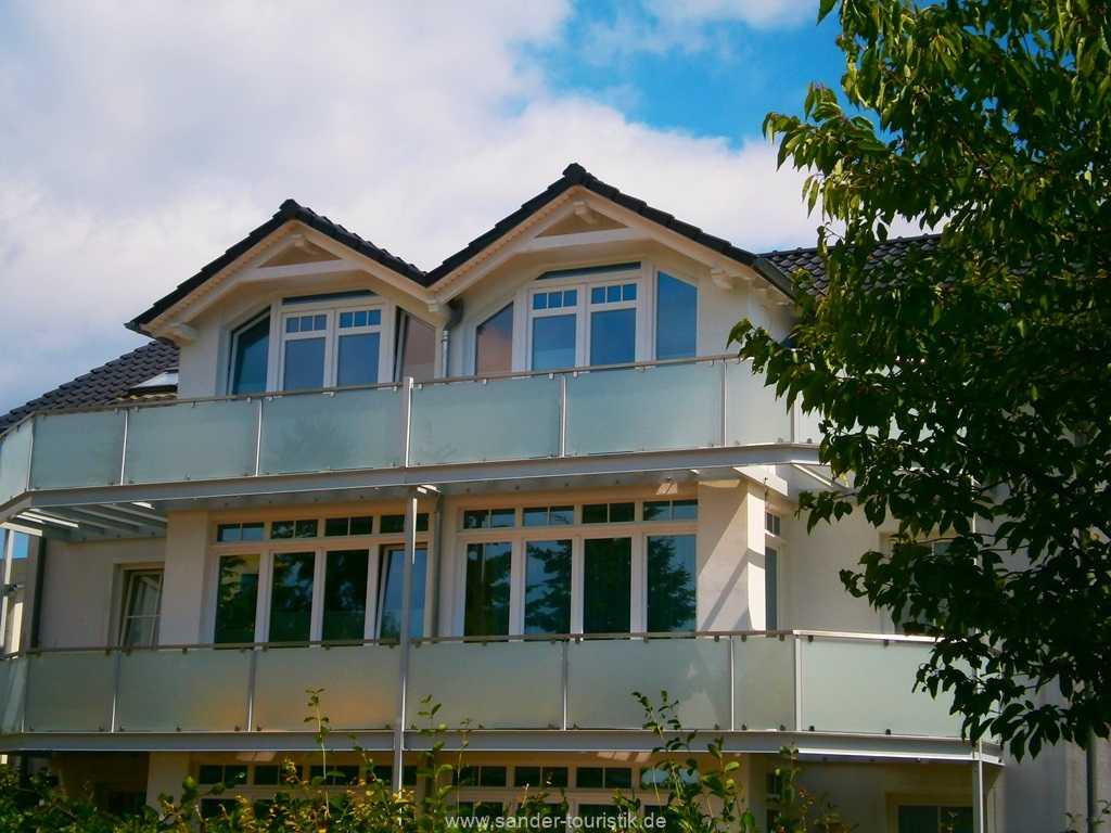 Blick auf die Balkone - Außenansicht - Binz