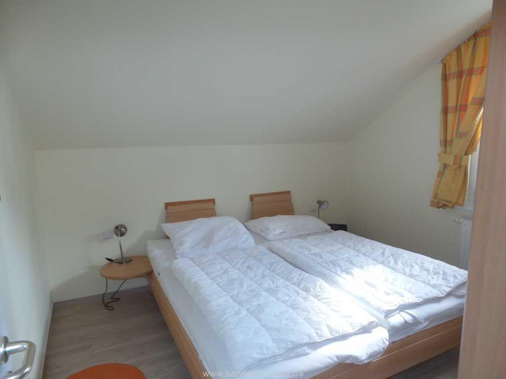 Doppelbett-Schlafzimmer - Binz - Meernixe