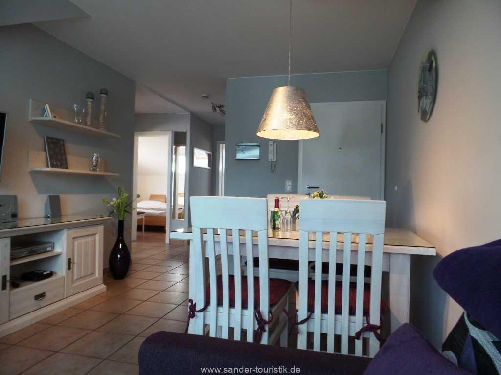 Blick in den Wohnraum - Meernixe - Binz